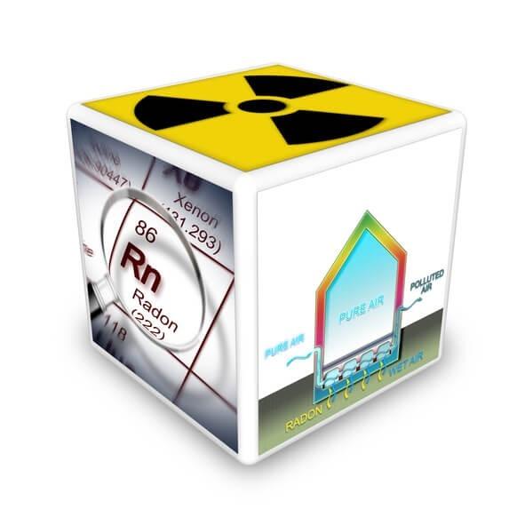 Radon Gas Informational Graphic