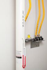 Installed Radon Mitigation System