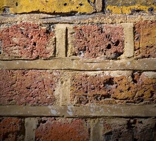 Radon Gas Coming Through a Brick Wall