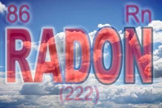 Element Radon with Atomic Number