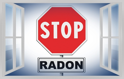 Radon gas should be removed immediately.