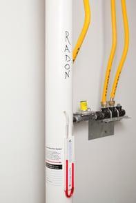 Radon Mitigation Pipe
