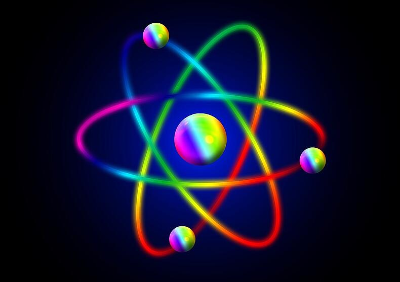 Radioactive Atom - Radon