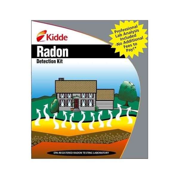 kidde radon gas detection kit